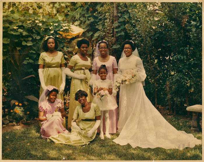 17.  Wedding Photo, 1971