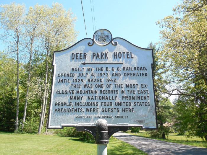 5. Deer Park, Garrett County