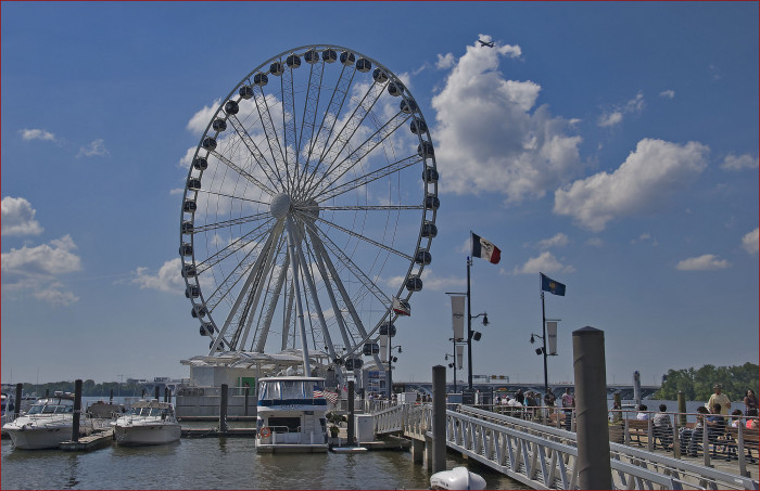 4. Profess your love atop of the Capital Wheel.
