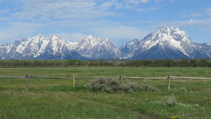 2. Grand Teton National Park