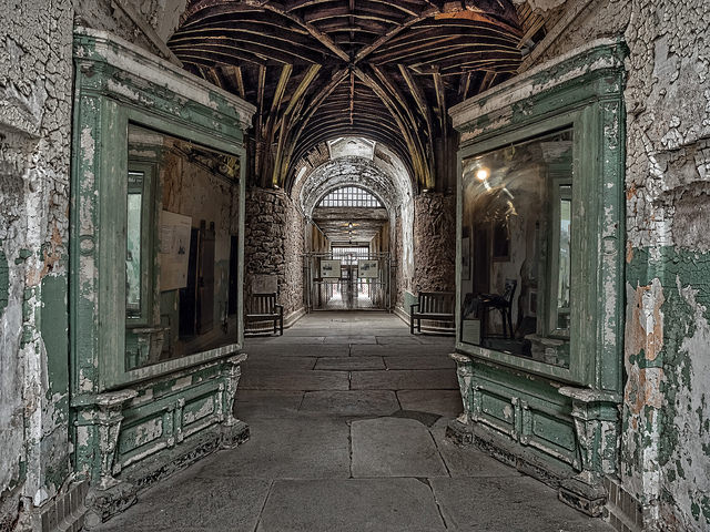 It is home to some of the most historic and also creepy locations.