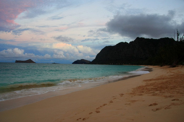 19. Not to mention the pristine white sand beaches that abound in Hawaii, like Oahu's Waimanalo Beach Park.
