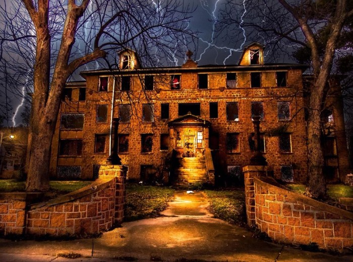 19.The old, vacant, and very creepy St. Mary's Hospital in Ironton looks like something out of a horror film.