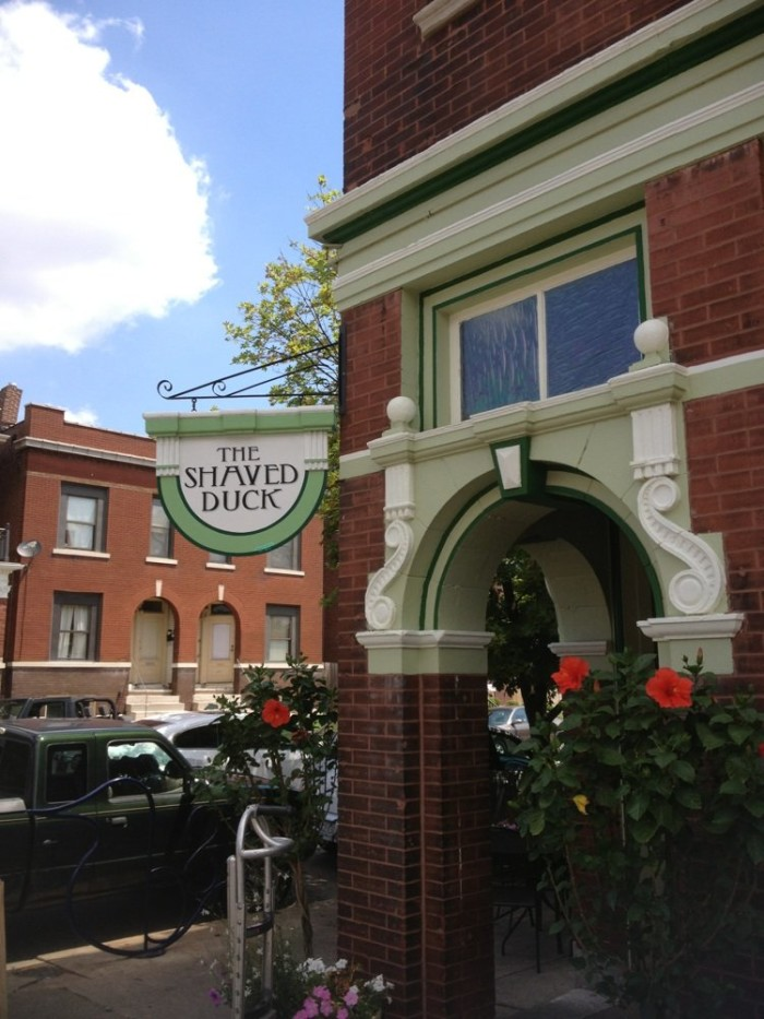 19.The Shaved Duck, St. Louis