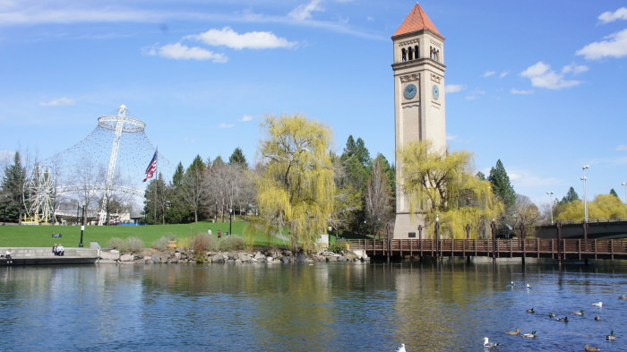 9. You've been to Riverfront Park in Spokane.