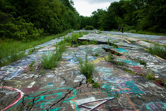 7. Centralia is our state's weirdest spot (or at least our most famous weird spot).