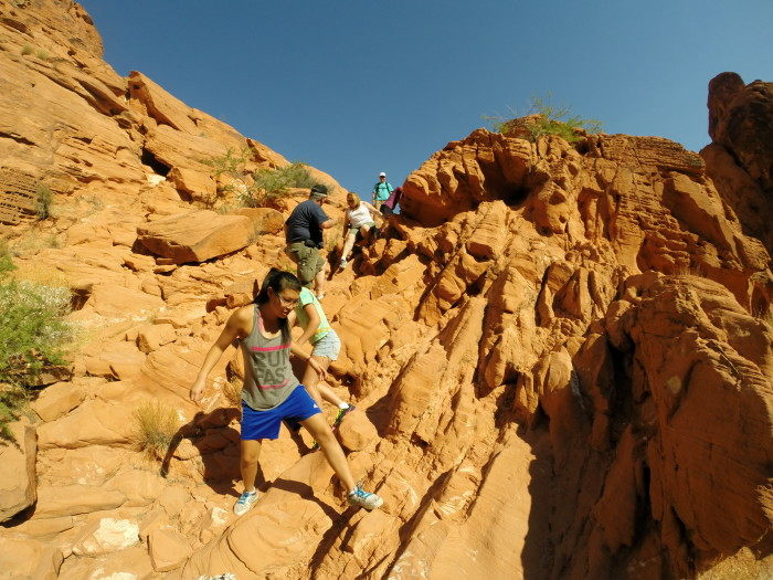 1. Participating in various outdoor recreational activities such as hiking...