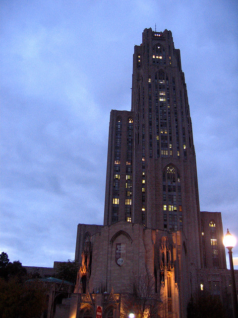10. The Cathedral of Learning