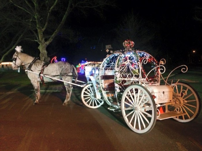 3. Go for a romantic carriage ride in a charming, historic town.