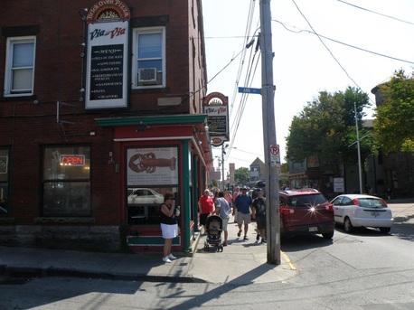 6. Via Via Pizza, Newport