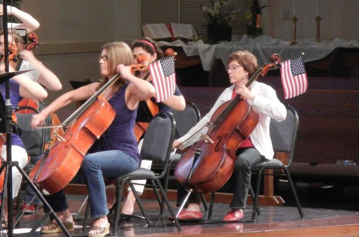 7. An annual patriotic concert