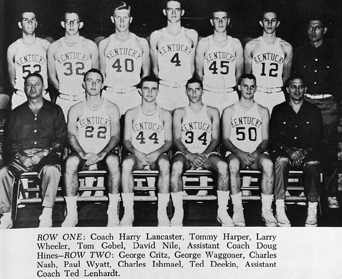 16. The 1960 Kentucky Basketball team and their short shorts.