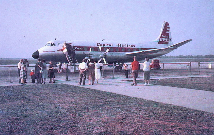 13. You may have been here before; this photo was taken at Allentown's ABE airport in 1960.