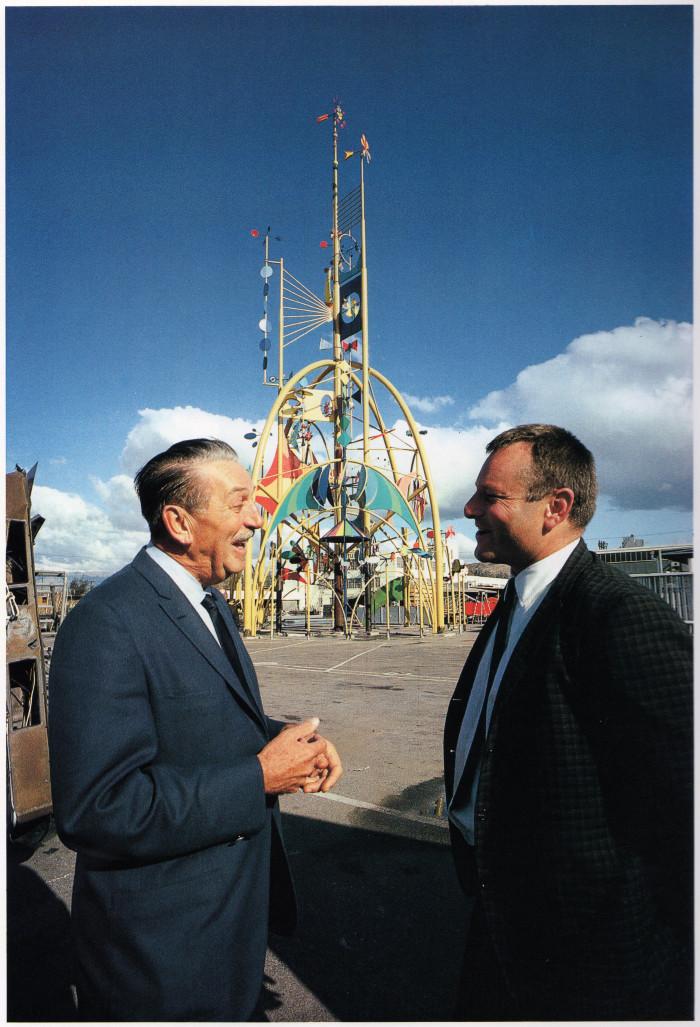 12. Walt Disney and Roy Crump at the 1964 New York World's Fair!