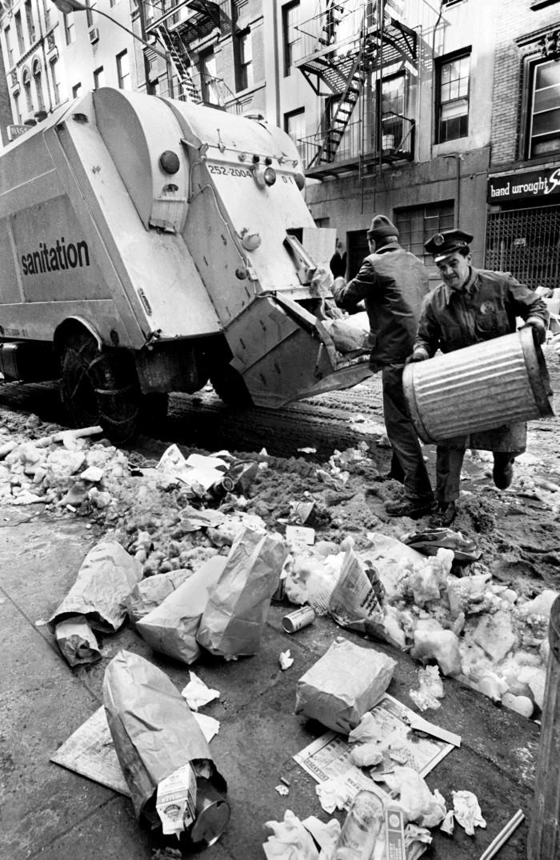 17. Taken in 1966 on New York's MacDougal Street, it would appear someone wasn't having the best of days!