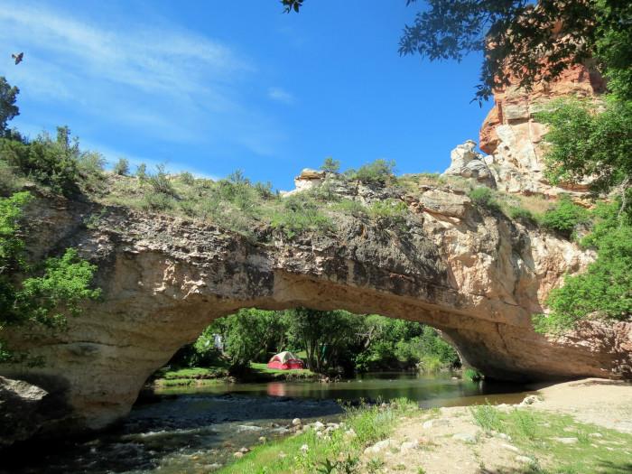 9. Ayres Natural Bridge