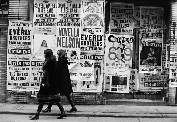 2. A stroll on New York City's Bleecker Street in 1967.