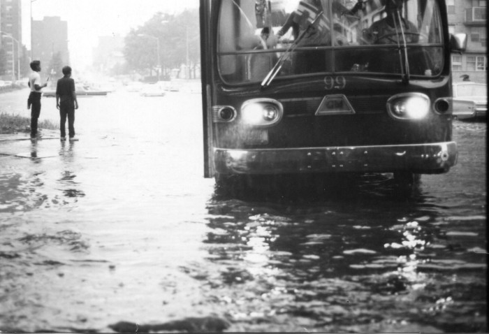 21. Taken during one of New York's heaviest rain storms on August 27, 1967.
