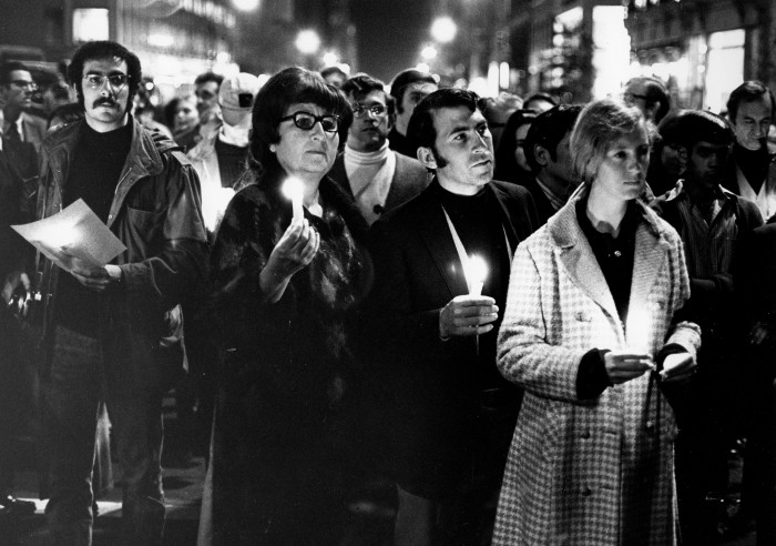 20. Another photograph taken from the late 1960s at an Anti-Vietnam Rally.