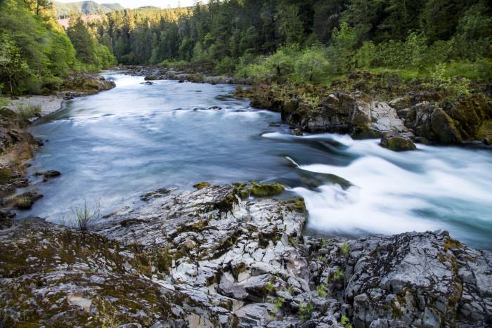 Umpqua River.