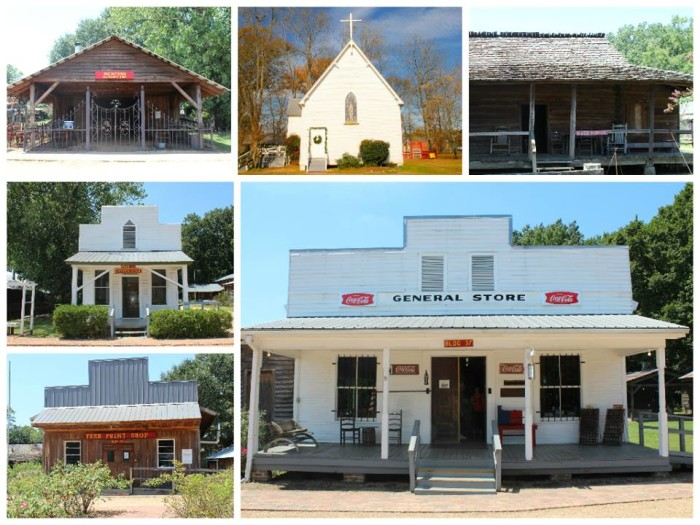 2. Small Town, MS at the Mississippi Agriculture & Forestry Museum, Jackson