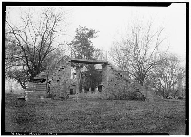 2. The Natchez mansion, Concord, was originally constructed in 1789; however in 1901, it was damaged beyond repair by a fire. Although it burned down, Concord is considered one of the most architecturally significant homes in the state, and has been mentioned in several publications since its demise.