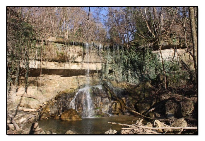 2. Mint Springs Bayou Waterfall, Vicksburg