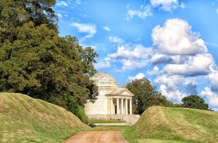 2. The Vicksburg National Military Park
