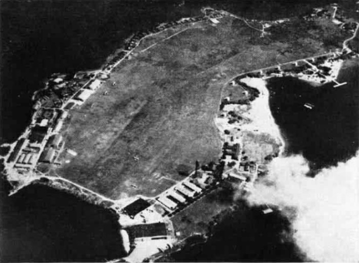 2. This aerial shot of Ford Island was taken in the 1930s, when anyone who needed access to the island had to take a ferry.