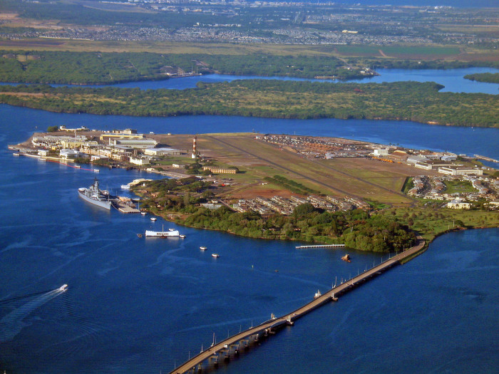 Now, Ford Island is a bustling neighborhood for military families, as well as the Pacific Aviation Museum and the USS Battleship Missouri. Plus, the island is now accessible via a 4,600-foot bridge.