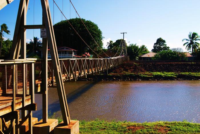 2. Hanapepe Swinging Bridge