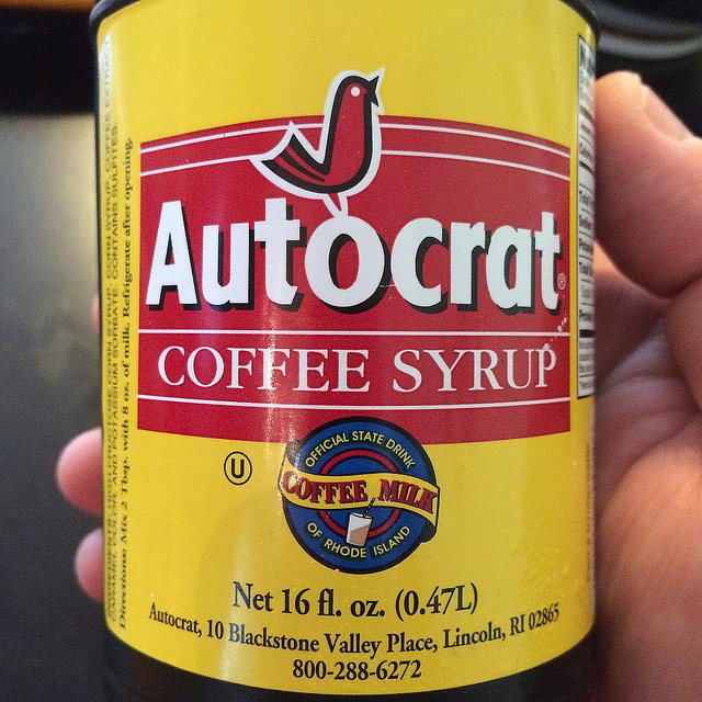 11. If you see someone with coffee syrup there is no doubt they're from the Ocean State.