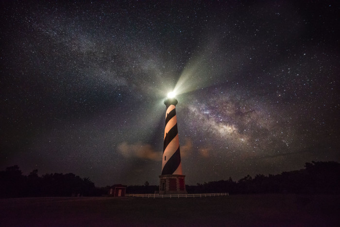 15. The guiding light of Cape Hatteras lighthouse. It always brings us back home to North Carolina!