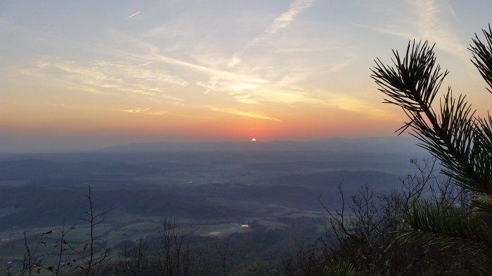 8. The breathtaking view from Jump Mountain