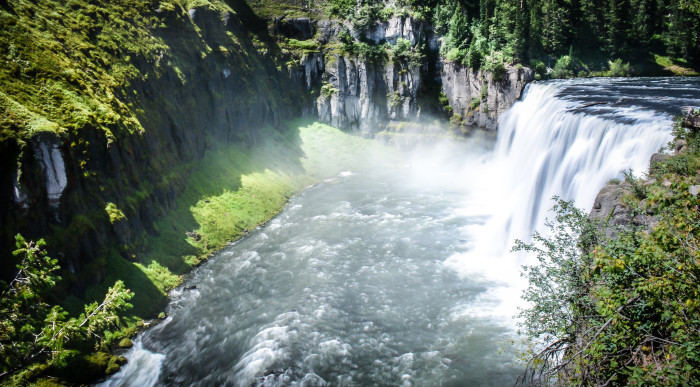 5. Upper and Lower Mesa Falls