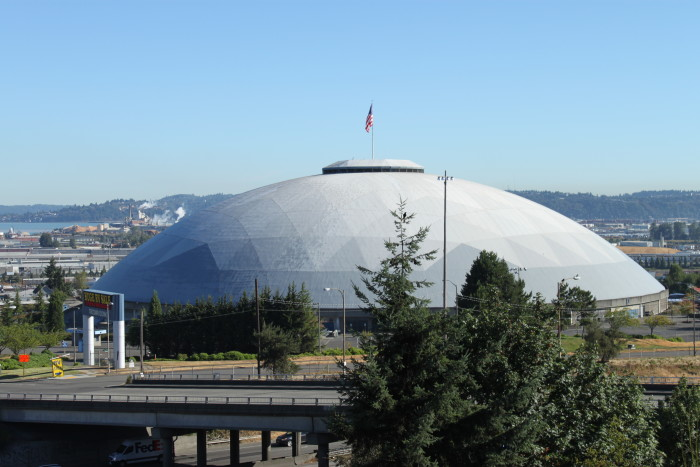 4. This huge arena south of Seattle hosts several different concerts, events and even sports games.