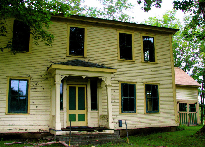 10. Anything could have happened in this rural Maine home.
