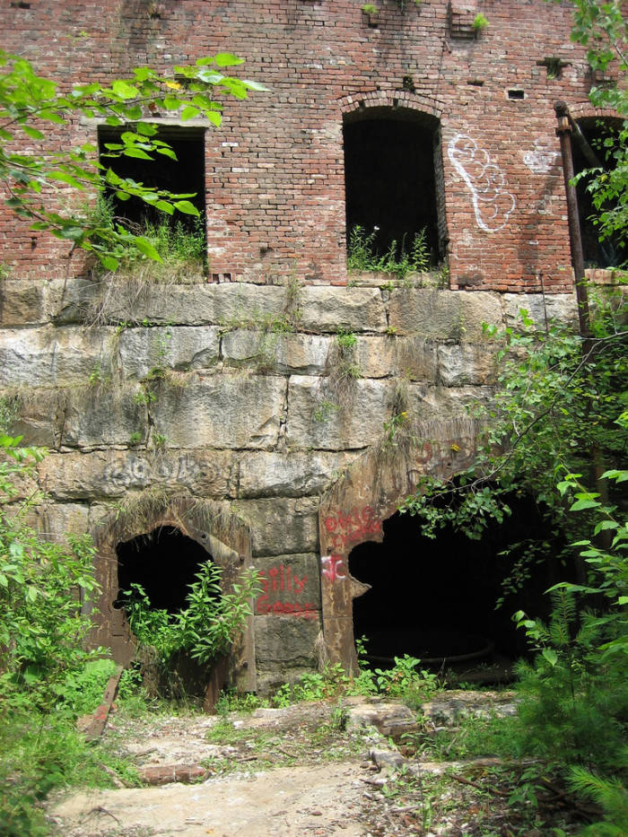 3. We wonder what's hiding in this abandoned mill in Plymouth.