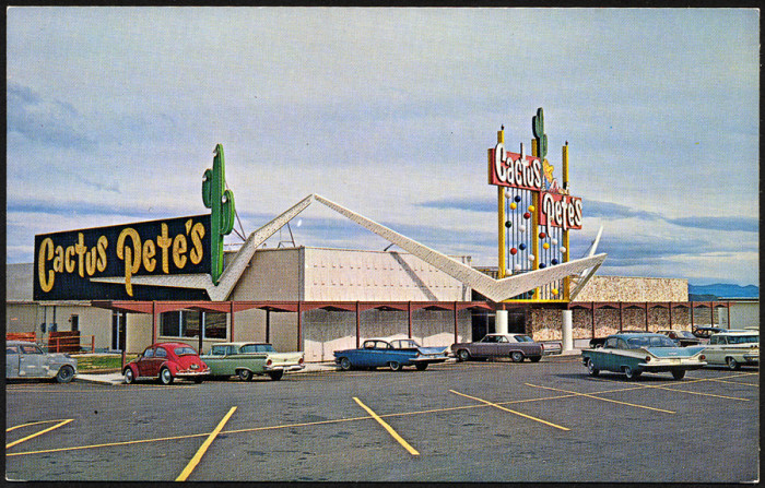 2. Cactus Pete's Casino, 1960s - Jackpot, NV