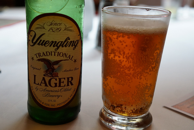 4. You can't remember the last time you ordered a beer that wasn't Yuengling.