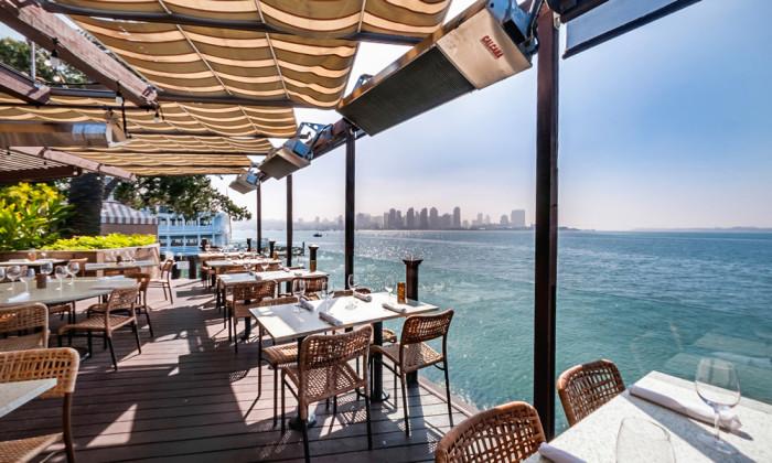 Sea Level Restaurant Harbor Island San Diego