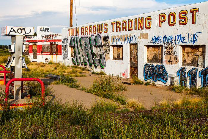 7. Shopping at the local trading post.
