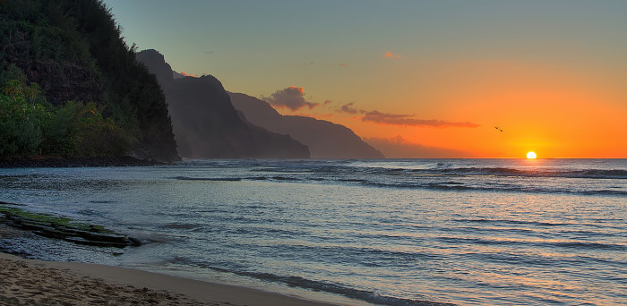21) Ke'e Beach, Kauai