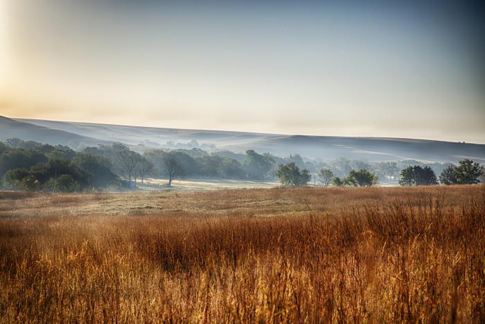 3. Tallgrass Prairie National Preserve (Strong City)