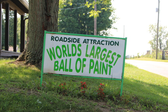 6. The World's Largest Ball of Paint