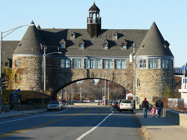 5. The Towers: This Narragansett structure is the last remnant of the Pier Casino built in the 1800s.