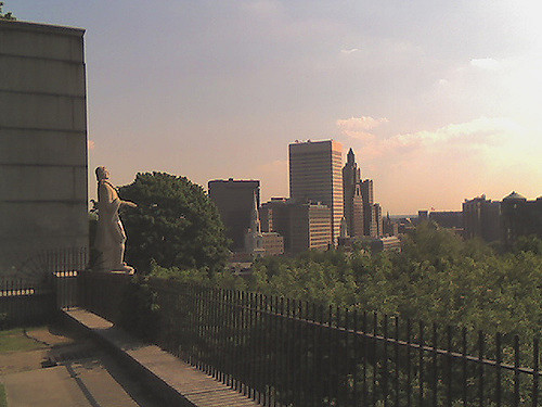 10. Prospect Park, Providence: A quaint park with a perfect view of a stunning city skyline.
