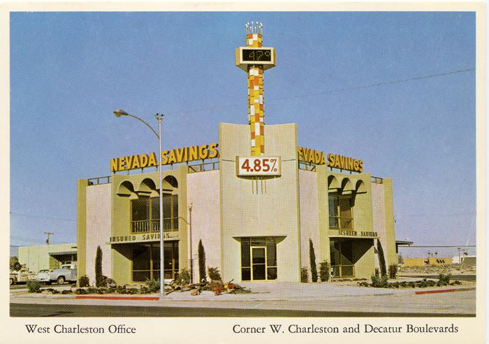 9. Nevada Savings Bank, 1960s - Las Vegas, NV