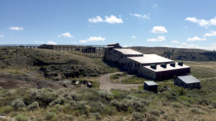 15. Abandoned Carissa Mine in South Pass City.