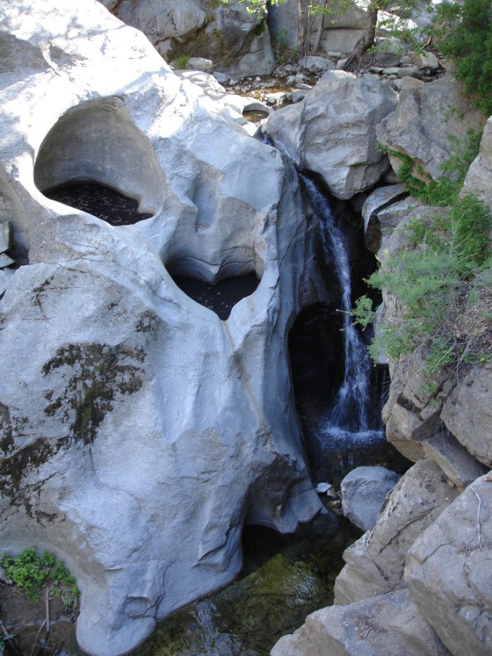 5.  Heart Rock Falls